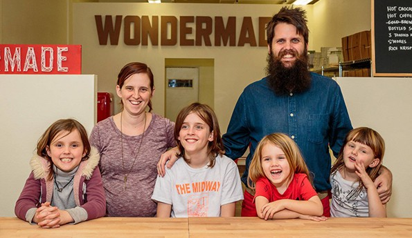 NATHAN & JENN CLARK - OWNERS OF WONDERMADE