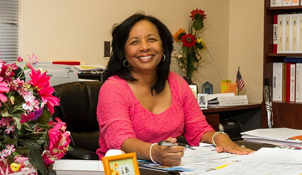 DR. CONNIE E. COLLINS - PRINCIPAL OF SEMINOLE HIGH SCHOOL