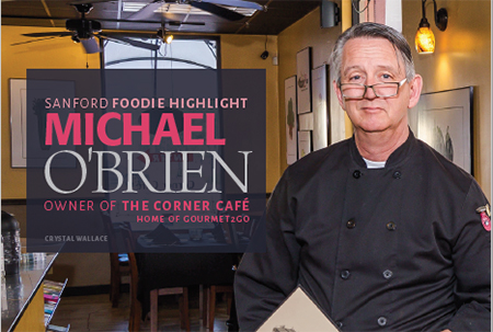 MICHAEL O'BRIEN - OWNER OF THE CORNER CAFÉ