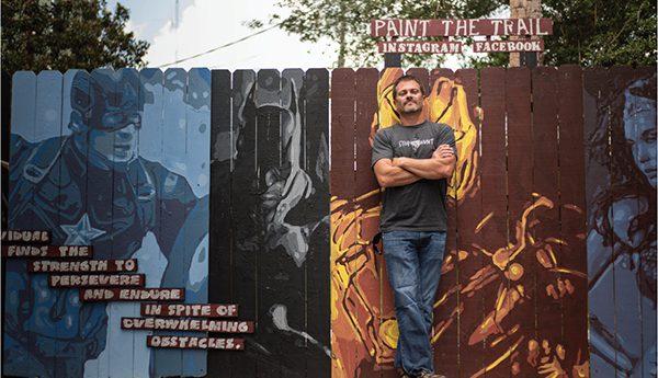 JEFF  SONSKEN - ARTIST OF PAINT THE TRAIL